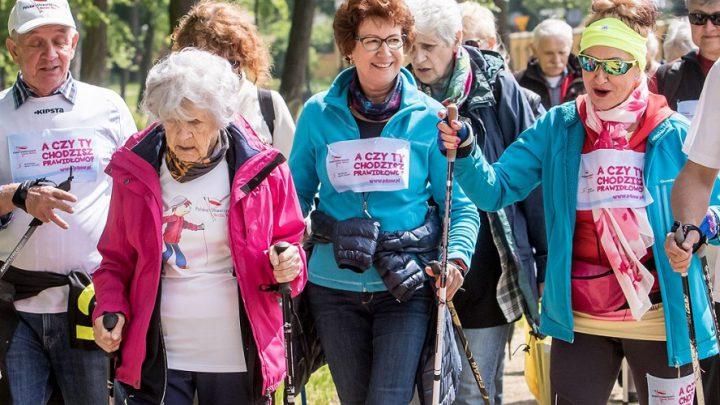 Ogólnopolski Marsz Nordic Walking. Każdy może wziąć udział.