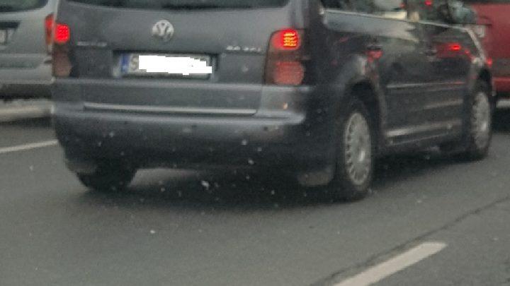 Zablokowana autostrada w Katowicach. Wypadek na zjeździe na Murckowską.