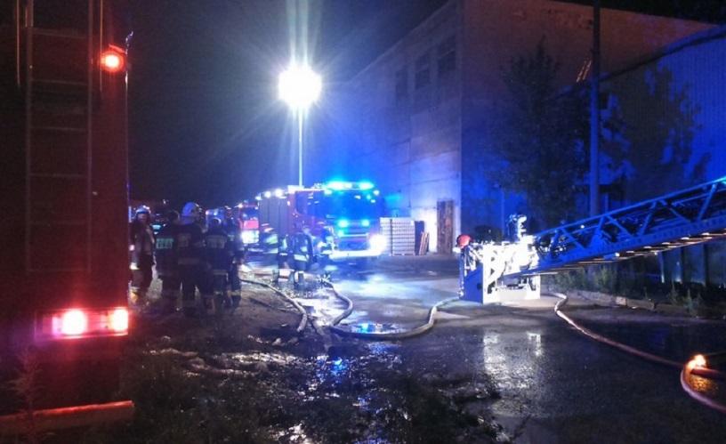 To była potężna eksplozja. Uszkodziła budynek. Doszło do wycieku duszącego gazu.