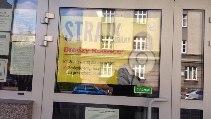 ?My też tu jesteśmy!? Nauczycielski strajk w oczach uczniów. Ważny głos licealistki z Katowic.