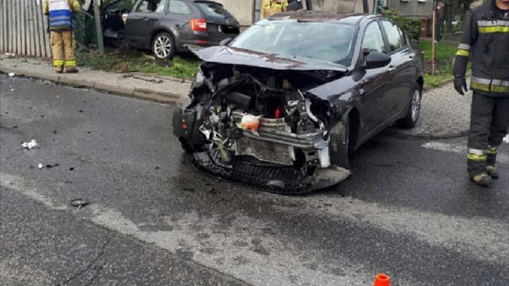 Groźny wypadek w Katowicach. Wśród rannych dziecko.