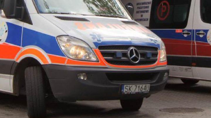 Straszliwy wypadek w Katowicach. Przerażający. Kierowca musiał zginąć.