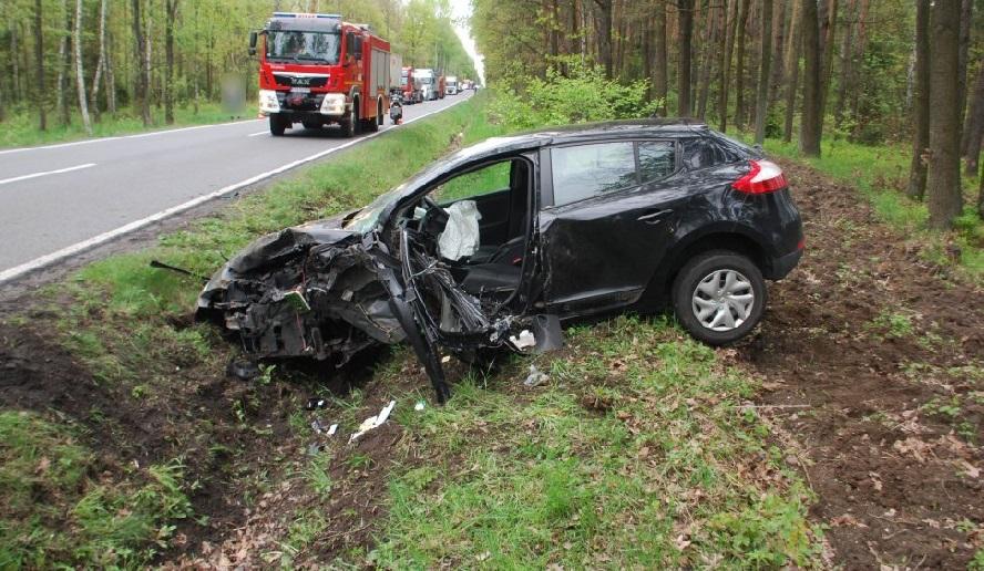 Sytuacja na drogach: wypadki, wypadki, wypadki.