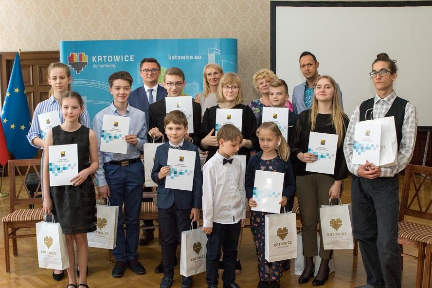 Oto przyszłość Katowic. Najlepsi uczniowie szkół artystycznych w mieście.