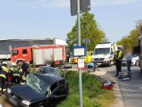 """Potworny wypadek 24-letniej katowiczanki z Ligoty. Akurat jechała do lekarza, ale kierowca zlekceważył znak """"stop""""."""