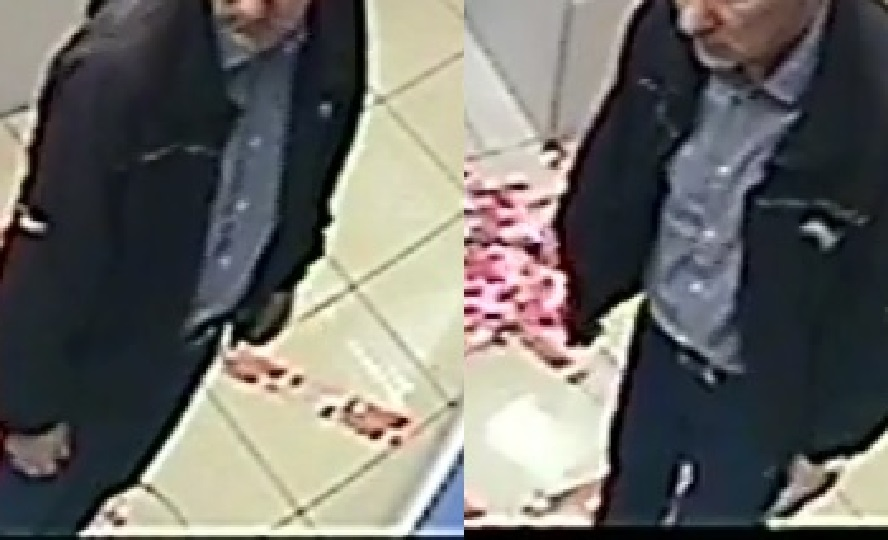 Nie wygląda na złodzieja. A jednak, widząc że człowiek skoncentrowany jest na pakowaniu zakupów, sięgnął po portfel tamtego i szybko wyszedł ze sklepu.