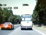 Z ogromną prędkością przez Katowice. W pewnym momencie na liczniku mieli ponad 193 km/h.