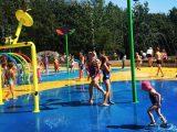 Od dziś w Katowicach będą działały cztery wodne place zabaw.