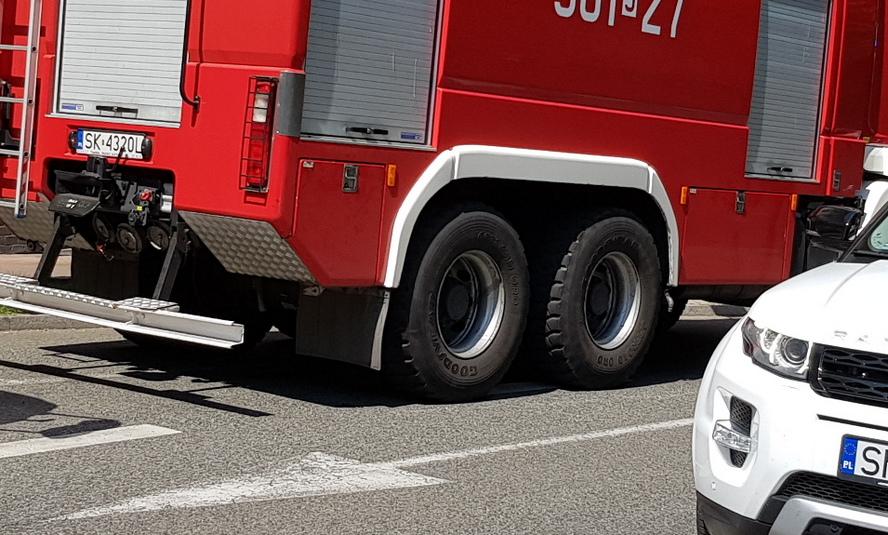 Wypadek w Katowicach. Zablokowane jedno z najważniejszych skrzyżowań.