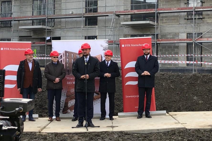 Nowe wielkie osiedle w Katowicach. Niedługo wprowadzą się tam pierwsi lokatorzy.