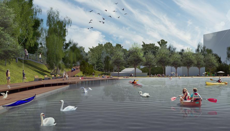 Warta około 50 milionów zł rewitalizacja Doliny 5 Stawów będzie największym zielonym projektem we współczesnej historii Katowic. Miasto otrzymało gotową koncepcję architektoniczno-urbanistyczną. Zakres prac jest olbrzymi.