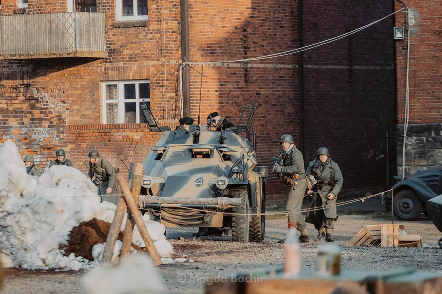 Bitwa o Miechowice. Fotoreportaż Magdy Bachir.