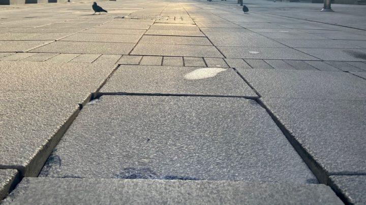 Epidemia wpłynęła na remont w centrum Katowic.