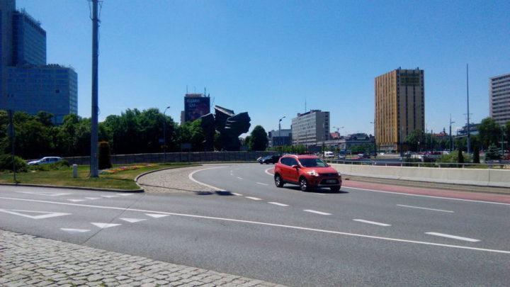Rewolucja na głównym skrzyżowaniu Katowic.
