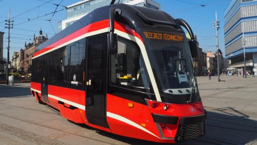 Powstaje nowa linia tramwajowa w Katowicach.