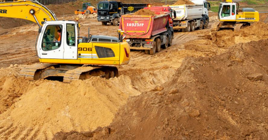 Zmiany w rejonie Giszowca. Trwa budowa nowego węzła drogowego.