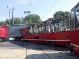 Podczas zderzenia w tramwaju było 11 osób