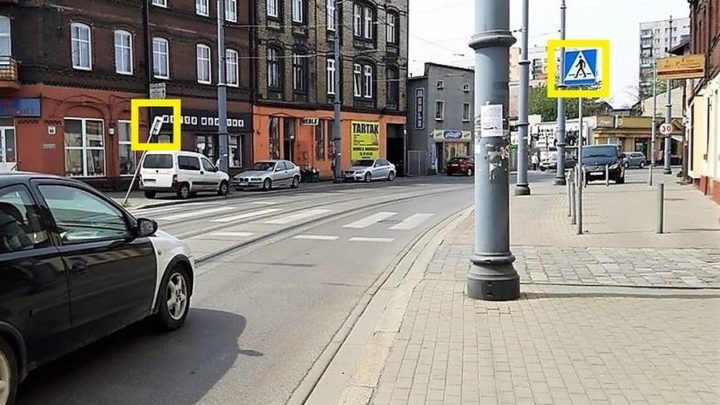 Fatalne wyniki kontroli bezpieczeństwa na przejściach dla pieszych w Katowicach.