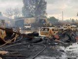 Jego kolega sam wpłacił pierwsze pieniądze i uruchomił akcję wsparcia. W ogromnym pożarze chemikaliów, o którym niedawno pisaliśmy, spłonął warsztat samochodowy prowadzony przez pana Kamila. Więcej zdjęć w tekście.