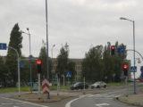 Dziś światła sterujące ruchem na niektórych skrzyżowaniach Katowic zachowywały się inaczej niż zwykle. Przyczyną to, co na zdjęciu w tekście.