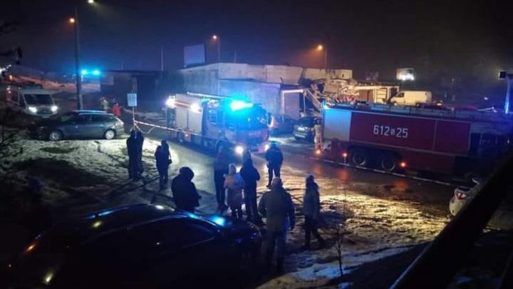Huk i wstrząs był odczuwalny również w sąsiednich miastach. Nocny wybuch gazociągu w Sosnowcu.