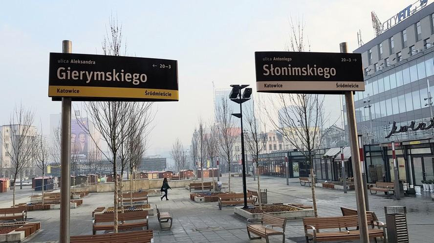 Jak zmienią się tablice informujące o nazwach ulic w Katowicach? Tak czy tak?