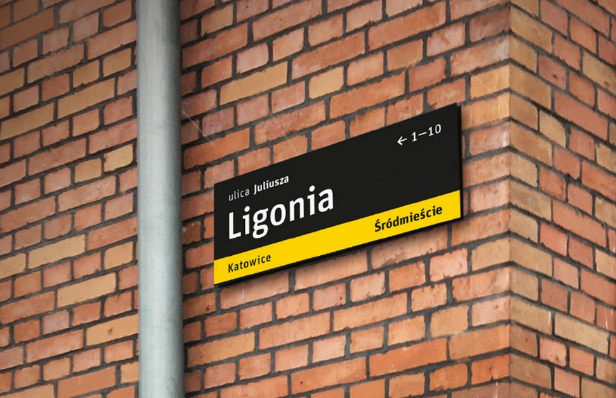 Tak będą wyglądać nowe tablice z nazwami ulic i placów w Katowicach.