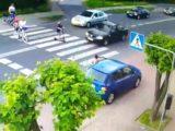 Ku przestrodze. Policja upubliczniła film – nagranie monitoringu wizyjnego z Rędzin.