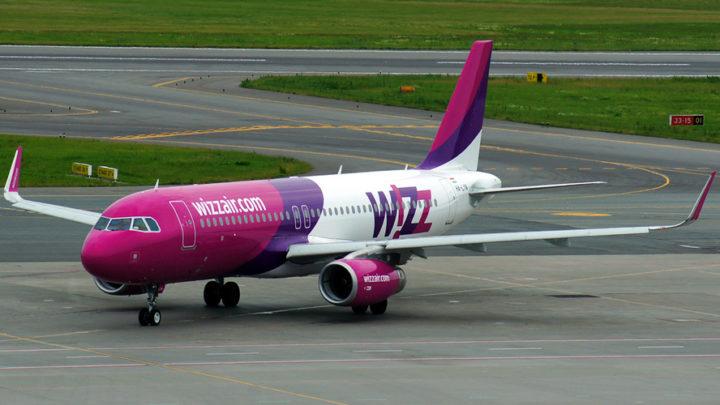 Awaryjne lądowanie samolotu Wizz Air w Pyrzowicach.