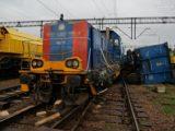 Pijany maszynista doprowadził do zderzenia dwóch pociągów w Dąbrowie Górniczej.